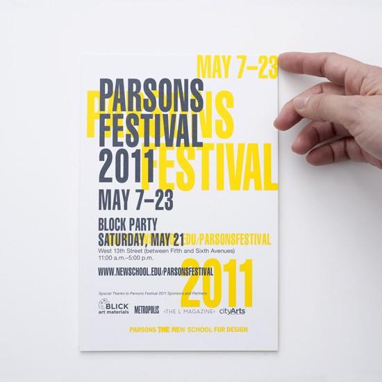 parsons festival 2011