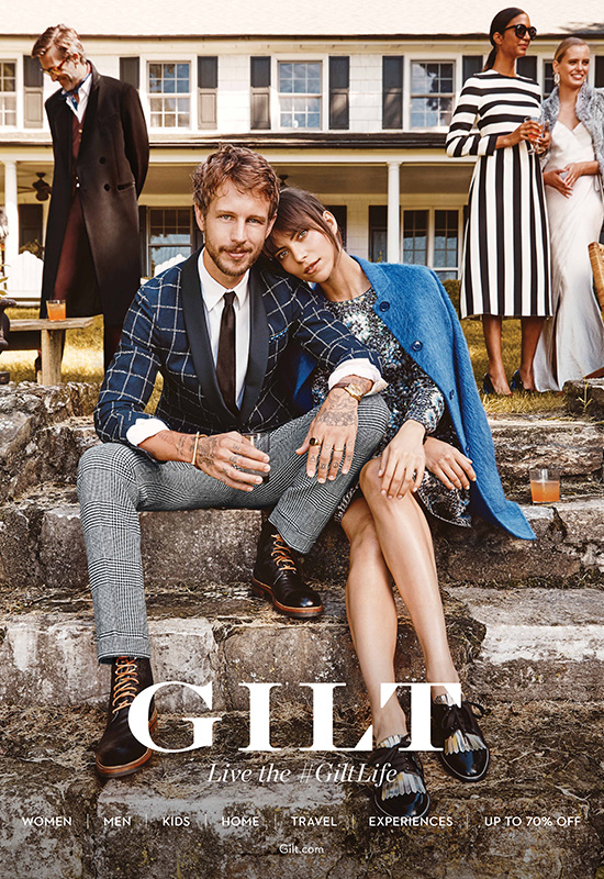 Gilt 2016 Advertising Campaign